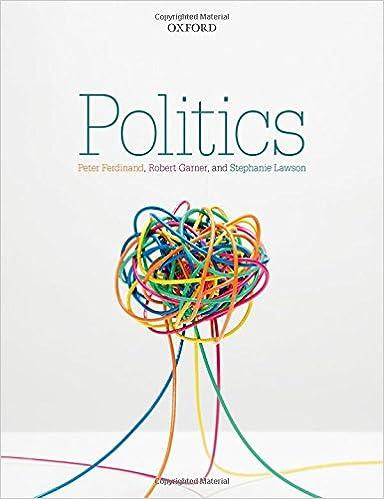 Politics Peter Ferdinand Robert Garner Stephanie Lawson
