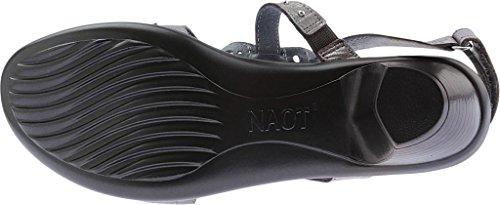 Sandal Light Grey Vogue Mid Naot Thread Nubuck Silver Women's Heel wUxIqapXX