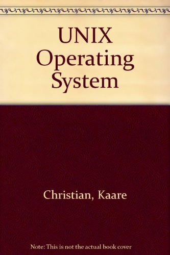 UNIX Operating System by John Wiley & Sons Inc