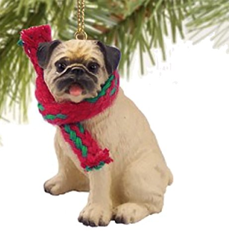 g Ornament - Fawn by Conversation Concepts (Pug Dog Christmas Tree Ornament)