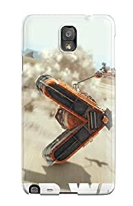 La Angel Nelson Scratch-free Phone Case For Galaxy Note 3- Retail Packaging - Star War Episode I 3d