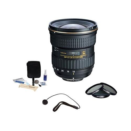 Tokina 12 – 28 mm f / 4.0 at - X Pro Aps - cレンズfor Canon、with Accessoryバンドル   B00HSA3NCC