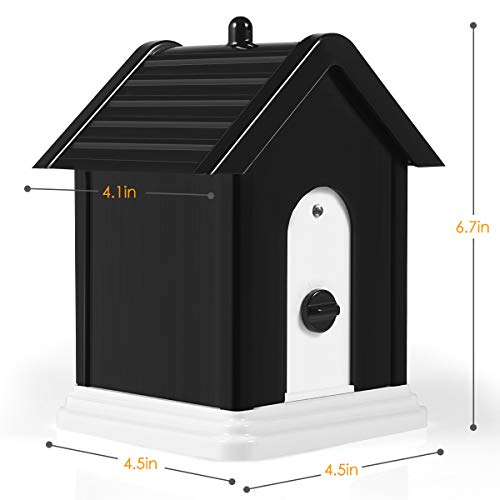 Anti Barking Device, 2019 New Bark Box Outdoor Dog Repellent Device with Adjustable Ultrasonic Level Control Safe for Small Medium Large Dogs, Sonic Bark Deterrents, Bark Control Device