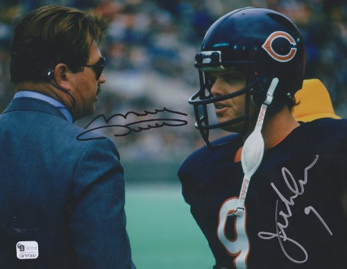 Jim Mcmahon Chicago Bears - Mike Ditka & Jim Mcmahon Chicago Bears 8 X 10 Reprint Photo - Beautiful !