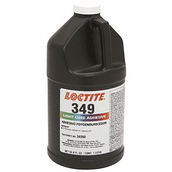 Loctite 135409 Amber349 Impruv Light Cure Adhesive, 1 L Bottle by Loctite