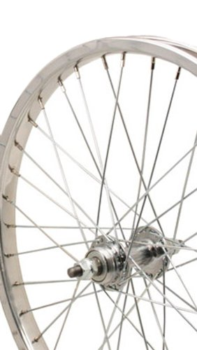 Sta-Tru Steel One Speed Freewheel Hub Rear Wheel (20X1.75-Inch) by Sta Tru