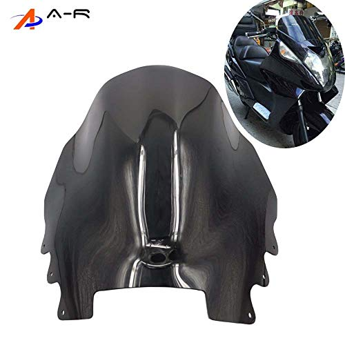Silver wing 400 GT400 GT600 Windshield Windscreen Wind Deflectors for Honda Silverwing 400 600 2001-2008 2002 2003 2004 2005 ()
