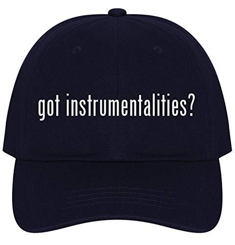 The Town Butler got Instrumentalities? - A Nice Comfortable Adjustable Dad Hat Cap, Navy