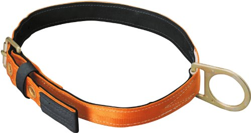 Miller Titan by Honeywell T3010/MAF Tongue Buckle Body Belt with Single D-Ring, Medium - Miller Body Belts