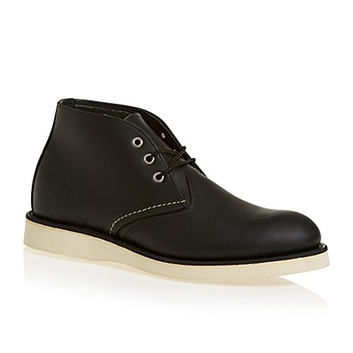 Red Wing 3148 Work Chukka Boots 8.5 D(M) US Black Chrome (Wing Red Chukka)