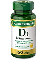Nature's Bounty Vitamin D3 5000 IU