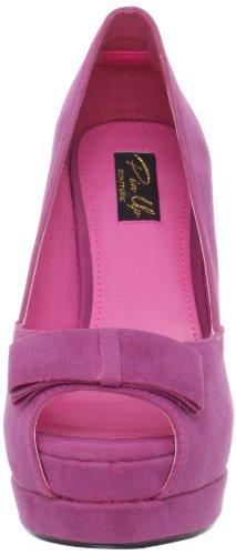 Pinup Couture - zapatos de tacón mujer rosa - fucsia