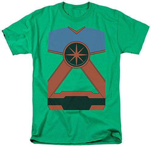 Justice League - Martian Manhunter Costume Tee T-Shirt Size XXXL (Martian Manhunter Costume)
