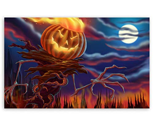 Jigsaw Puzzle 1000 Piece Halloween DIY Modern Wall Art Unique Gift Home Decor -