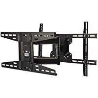 DoubleSight Full Motion TV Wall Mount, 32-70, up to 100 lbs, Extends 21, 180⁰ Swing, Tilt & Pivot, VESA up to 400/600mm