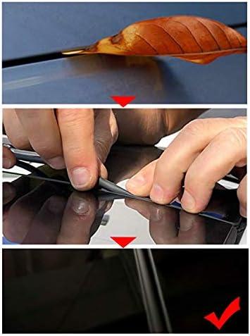 Lfotpp Gummidichtung Schalldämmung Für Model 3 2 8m Staubdicht Schwarz Auto