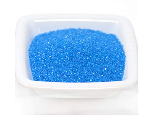 Sanding Sugar (16 oz / 1 LB or 8 LB) (Blue, 1 LB)