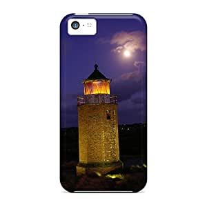 High Quality Full Moon On The Old Cross Light Cases For Iphone 5c / Perfect Cases