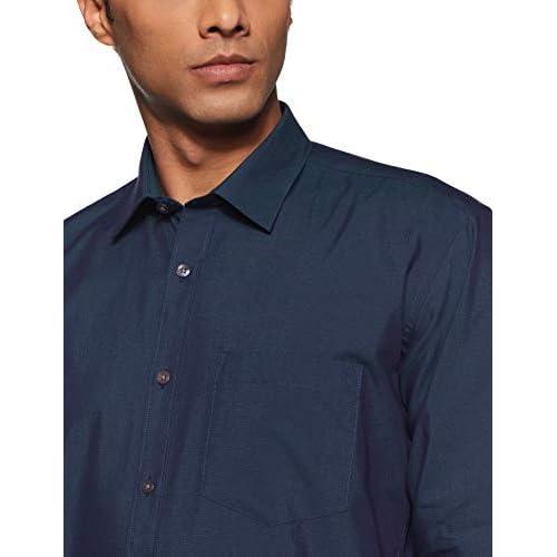 41EPoOo9KzL. SS500  - Amazon Brand - Symbol Men's Regular Fit Cotton Formal Shirt