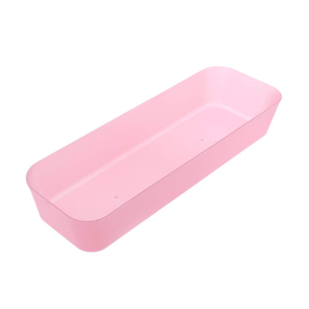 JUNESUN Drawer Kitchen Cutlery Tableware Case Makeup Storage Box Home Organizer Plastic