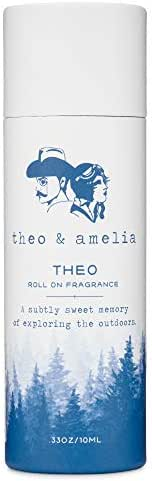 Theo All Natural Roll On Fragrance 10mL - Inspired by the Outdoors - Made with Essential Oils