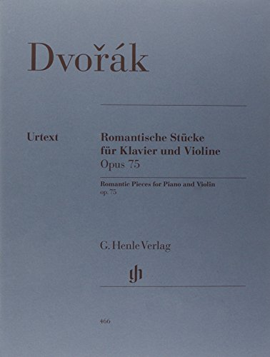 (Romantic Pieces for Violin and Piano op. 75 - piano and violin - (HN 466))