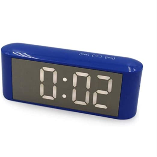 LTOOD Espejo LED Reloj Despertador Reloj de Sobremesa Digital de ...