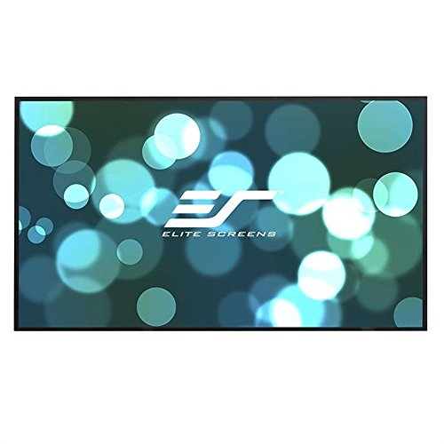 Elite Screens Aeon, 135-inch 16:9, Ambient Light Rejecting ALR Fixed Frame EDGE FREE Projection Projector Screen, AR135DHD3