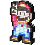 PDP, PDP-A-06203, PDP Luminária Pixel Pals Mario 16 Bit, Preto, Not Machine Specific