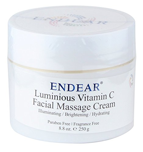 Endear Luminous Vitamin C Facial Massage Cream, 250g, 8.8...