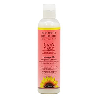 Jane Carter Solution Curls to Go Untangle Me Weightless Leave In