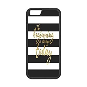 "Black & White Quotes iPhone6S 4.7"" Phone Case, DIY iPhone6S 4.7"" Cover"