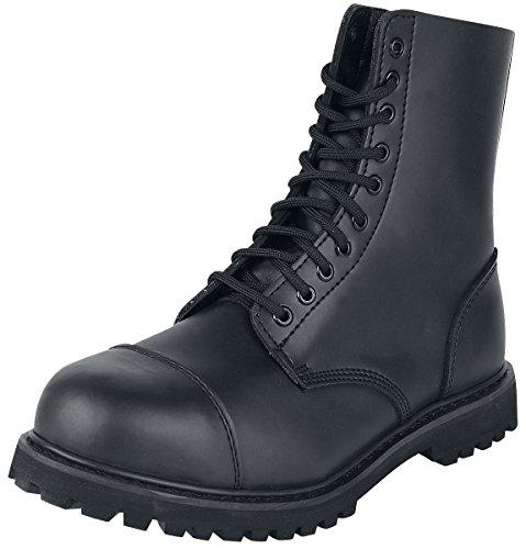 Brandit Phantom Boots 10 Eyelet Black Size 44 EU/10 UK (Nylon Boot Phantom)