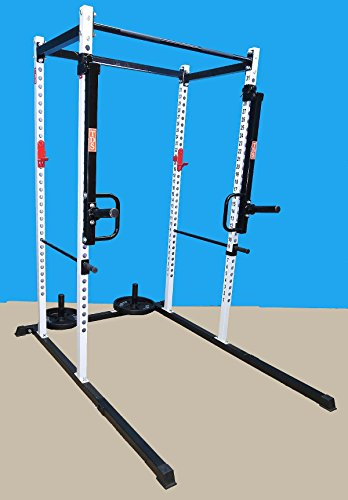 TDS Push, Pull Thruster / Jammer attachment for Power Racks with 2'' sq. tube. Made in the USA by TDS