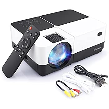 5e9f3802d Arrinew Portable Projector, Full HD Mini Video Projector LED Home Theater  Projector with HDMI Cable