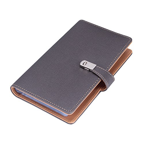 Name Card Book Holder Business Card Organizer for 240 Cards ()