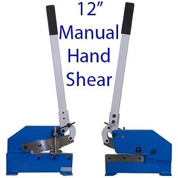 "12"" Manual Hand Shear Shearer Sheet Metal Steel Cutter"