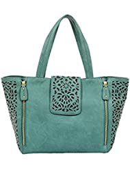 Mellow World Fashion Sophie Tote, Jade, One Size