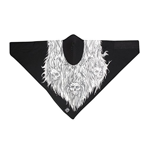 (ZANheadgear WNEO143 Cotton/Neoprene Neodanna Mask (Multi, One Size))