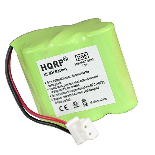 HQRP Transmitter Battery for Dt-Systems LH040-3A29C60RML Super Trainer EZT plus 5000, EZT plus 5002, EZT Plus 1000 Dog Training Collar + Coaster ()