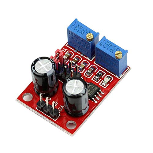 (NE555 Duty Cycle Frequency Adjustable Square Wave Signal Generator Board Module by Envistia Mall )