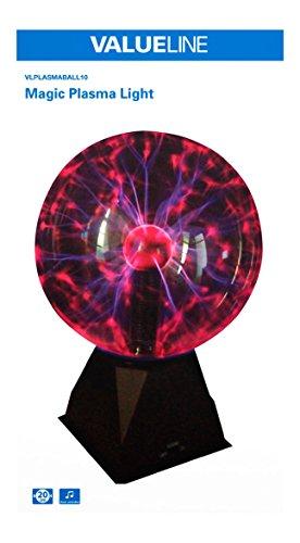 valueline sfera di luce al plasma  Valueline Sfera Di Luce Al Plasma: : Illuminazione