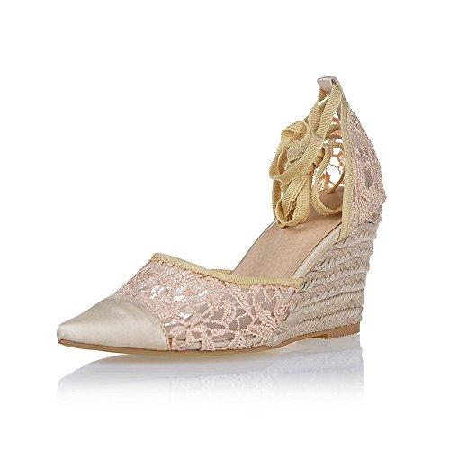 de rosa Adee vestir Sandalias claro grisáceo mujer para 7HcRcTFq