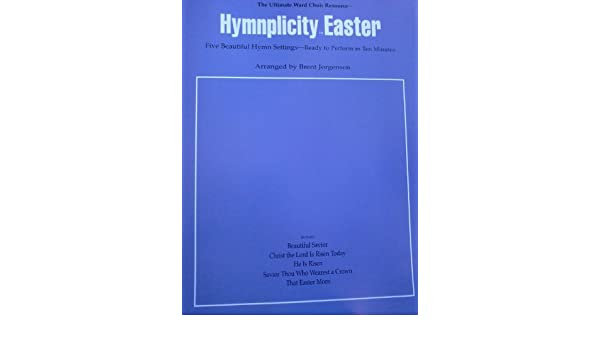 Hymnplicity Easter 0093285013636 Amazon Books