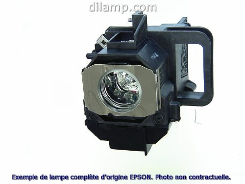 Powerlite Home Cinema 8350 Epson Projector Lamp Replacement. Projector Lamp Assembly with High Quality Genuine Original Osram P-VIP Bulb inside.