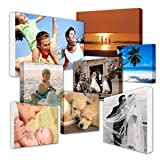 Your My Photo Picture On Personalised Wall Canvas A4 12'x8' inch 8x12 BOX FRAMED Perfect Gift