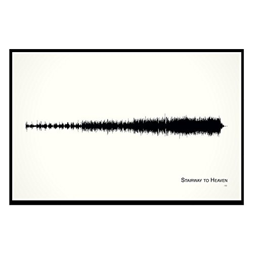 - Stairway to Heaven - 11x17 Framed Soundwave print