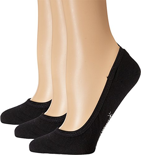 Smartwool Women's Secret Sleuth 3-Pack Black Socks LG (Women's Shoe 10-12.5)