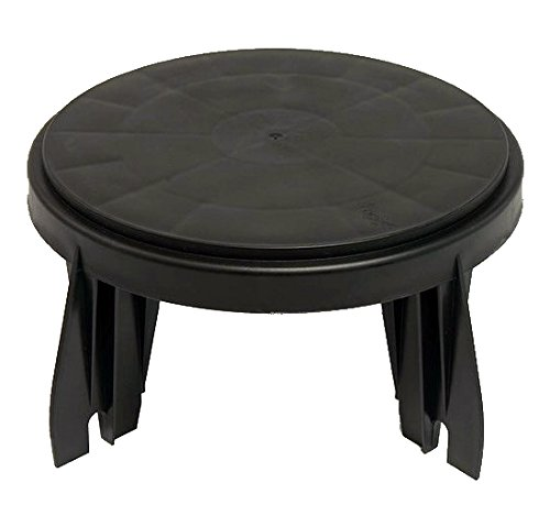 The Original Bucket Stool for 3.5 Gallon and 5 Gallon Buckets Used for Fishing Chair, Camping Lid, Gardening Seat, Hunting, Tailgating, and Cleaning (1 Pack) (Fishing Ice Seats)