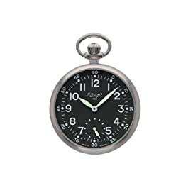 Kienzle Unisex V73091638830 1822 Black Dial Pocket Watch